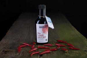 Sannis Bio Leinöl mit Chili