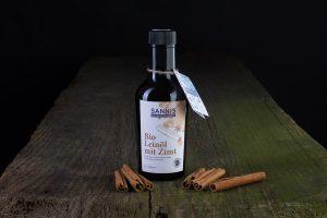 Sannis Bio Leinöl mit Zimt