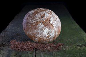 16 Brot rund